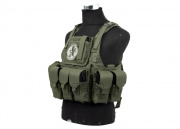 Lancer Tactical Assault Plate Carrier with Cummerbund (OD)