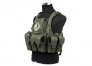 Lancer Tactical Assault Plate Carrier (OD Green)