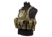 Lancer Tactical Assault Plate Carrier with Cummerbund (Tan)