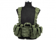 Lancer Tactical M4 Chest Harness (OD Green)