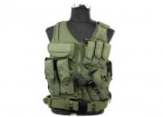 Lancer Tactical Crossdraw Vest (OD Green)