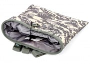 Lancer Tactical Foldable Dump Pouch MOLLE (ACU)