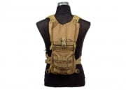 Lancer Tactical Light Weight Hydration Pack (TAN)