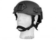 Lancer Tactical MICH 2001 NVG Helmet (Black)