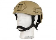 Lancer Tactical MICH 2001 NVG Helmet (Tan)