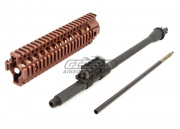 "Madbull Barrett REC7 14.5"" Barrel And RIS Kit For M4/M16 AEG (FDE)"