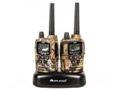 Midland Radio FRS / GMRS 50 Chl. / 36 Mile Batteries & Desk Top Charger (Pair)