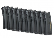Magpul PTS Green Label 30rd M4/M16 Mid Capacity AEG Magazine (10 Pack/E-Mag/Black)