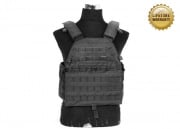 Pantac USA 1000D Cordura LT6094 Low Profile Plate Carrier (Black/Medium)