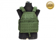 Pantac USA 1000D Cordura LT6094 Low Profile Plate Carrier ( OD / Medium )