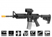 Javelin Airsoft Works Full Metal M4 RIS Electric BlowBack AEG Airsoft Gun (Carry Handle)