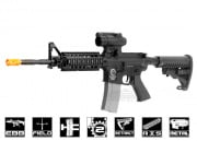 Javelin Airsoft Works Full Metal M4 RIS Electric BlowBack AEG Airsoft Gun ( Carry Handle )
