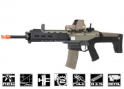 A&K Full Metal Magpul Masada AEG Airsoft Gun ( Licensed Trademarks / 2 Tone Black Lower )
