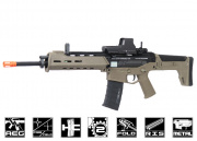 A&K Full Metal Magpul Masada AEG Airsoft Gun ( Licensed Trademarks / 2 Tone Tan Lower )