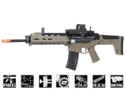 A&K Full Metal Magpul Masada AEG Airsoft Gun (Licensed Trademarks/2 Tone Tan Lower)