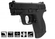Smith & Wesson M&P 9 Compact Semi/Full Auto GBB Airsoft Gun (Licensed by Cybergun)