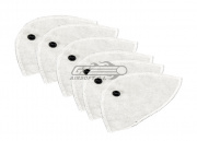 X-Filter Removable Bamboo Filters (6 Pack)