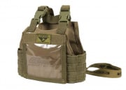 Condor Outdoor Mini Exo Plate Carrier ID Panel (Tan)