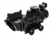 Lancer Tactical 4X32 Red & Green & Blue Illuminated Scope