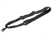 Lancer Tactical One Point Bungee Sling (Black)