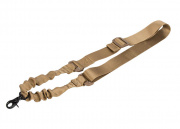 Lancer Tactical One Point Bungee Sling (Tan)
