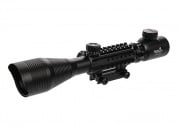 Lancer Tactical 4-12X50 Red & Green Illuminated Scope