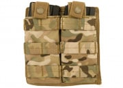 Lancer Tactical Double Pouch MOLLE (Camo)