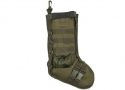 Lancer Tactical 600D Polyester Tactical Stocking MOLLE Panel (OD Green)