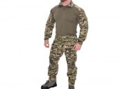 Lancer Tactical CA-2760DWC-L Combat Tactical Uniform Set (Woodland Digital/LG)