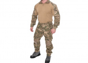 Lancer Tactical CA-2760MA-L Combat Tactical Uniform Set (Camo Desert/LG)