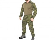Lancer Tactical CA-2760MT-L Combat Tactical Uniform Set (Camo Tropic/LG)