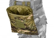 Lancer Tactical Foldable Dump Pouch Molle (Camo Tropic )
