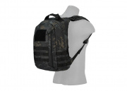Lancer Tactical MOLLE Adhesion Scout Arms Backpack (Black Camo)