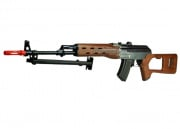 JG JG0511MG AK47 SVD Stock Version Rifle AEG Airsoft Gun (Imitation Wood)
