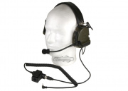 Bravo Head set Style #3 for Single Pin Motorola