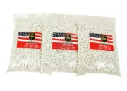Echo 1 Match Grade .20g 5000 ct. BBs - 3 Bags (White)
