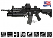 Airsoft GI G4-18 Carbine w/ Daniel Defense SOPMOD RIS Blowback Version AEG Airsoft Gun ( Custom )