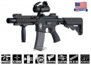 Airsoft GI G4-A2 Flaming Hog w/ Daniel Defense Lite RIS Blowback Version AEG Airsoft Gun (Custom)