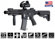 Airsoft GI G4-A2 Flaming Hog w/ Daniel Defense Lite RIS Blowback Version AEG Airsoft Gun ( Custom )