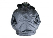 Airsoft GI Black Fleece Patrol Jacket (Large)