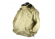 Airsoft GI Softshell Fleece Tan Jacket ( XL )