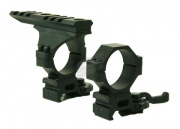 G&P UFC QD 30mm Mount Ring with Rail