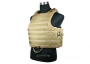 J-Tech Releasable Raider Plate Carrier ( Tan / Tactical Vest )