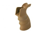 King Arms G27 Grooved Grip for M4/M16 (Tan)