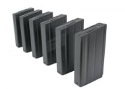 Classic Army SA58 550 rd. AEG High Capacity Magazine - 6 Pack (Black)
