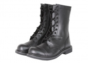 "(Discontinued) Condor Outdoor All Leather 10"" Paratrooper Boots (Size 9/Black)"