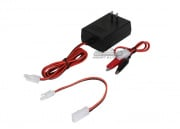 Compact Smart Charger for 7.2V-12V Batteries