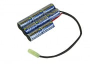 Intellect 9.6v 1600mAh NiMH PEQ2 Style Battery