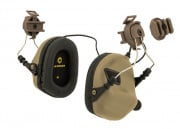 OPSMEN Earmor Tactical Noise Reduction Headset For Fast MT Helmets (Tan)