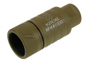 Madbull Noveske KFH Adjustable Amplifier Flash Hider CCW (Tan)
